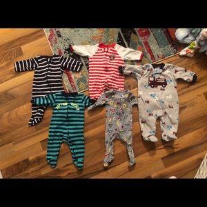 0-3 month newborn baby boy lot